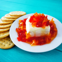 Red Pepper Jelly Cream Cheese Spread (Chismosa)